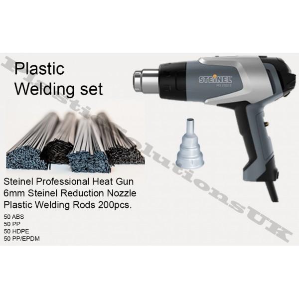 Plastic Welding Kit Steinel Hot Air Gun Plastic Welding