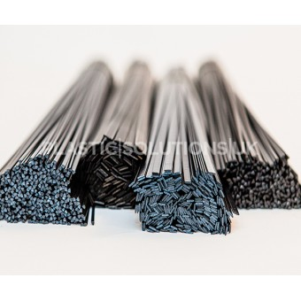 CUSTOM ORDER HDPE black 10mm,  8 packs x 10 pieces.