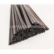 P/E plastic welding rods triangle &flat strips black weld sticks 35pcs