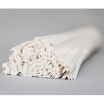 PVC rigid 8mm plastic welding rods flat shape 10 pieces